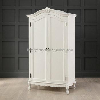 Style Baroque Francais Peint A La Main Armoire Design 2 Portes