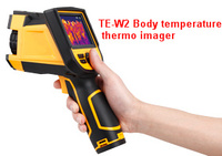 Handheld body temperature rapid screening TE-W2 thermo imager
