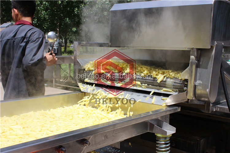 BELYOO Potato Fries Processing Machinery Commercial French Fries Machine for sale