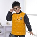Kindstraum NEW boys winter white duck down coat patchwork single breasted Children s winter outerwear drop