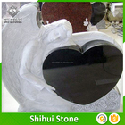 Wholesale Big Production Ability Angel And Heart Grave Stone Grave Monument Slab Tombstone