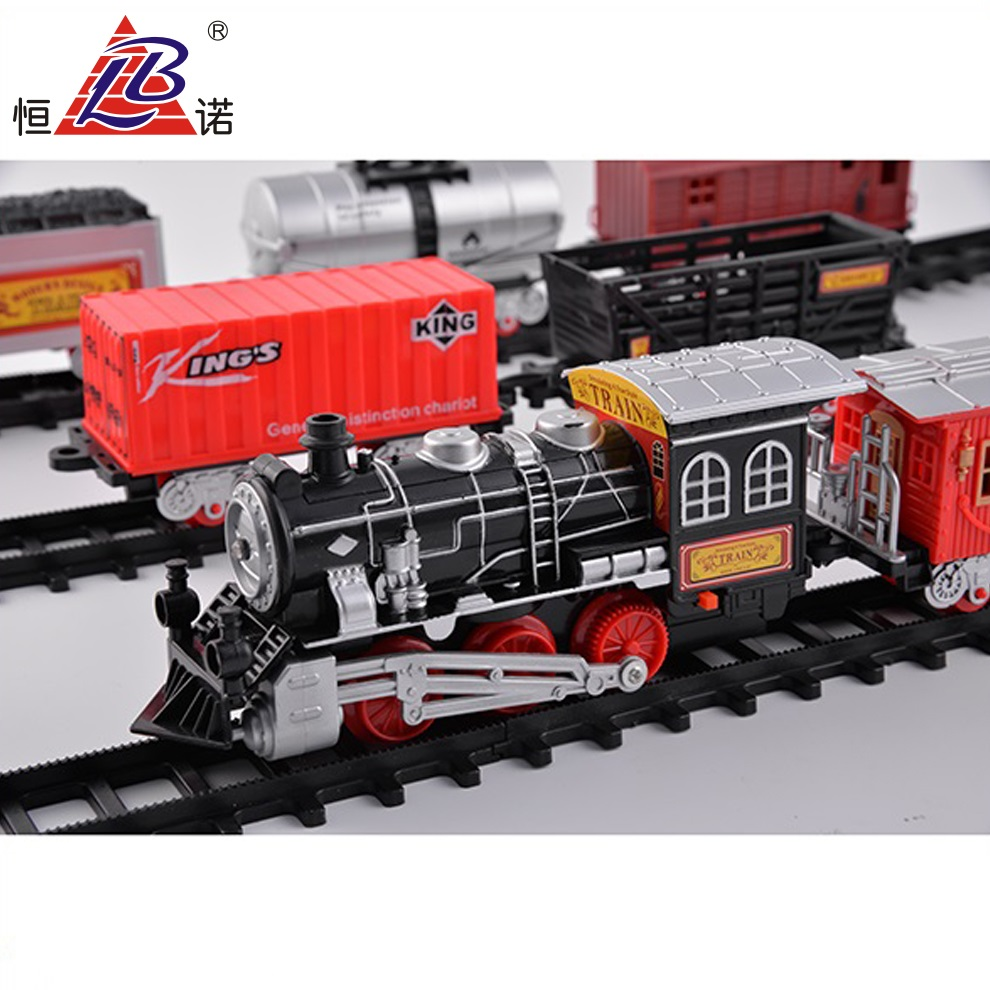 High quality with light and music B/O toy train steam locomotives