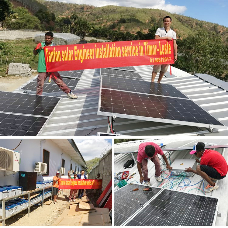12kw solar panel system installation