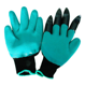 Garden Gloves for Digging and Planting / garden 5pcs bear claw digging glove protect hand without tools