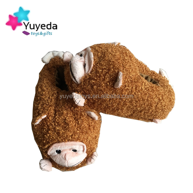 wholesale child monkey slipper/monkey cartoon slippers