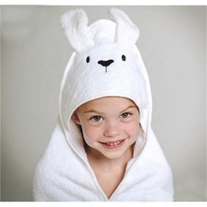 Plain China Supplier Baby 100%Bamboo Hooded Towel