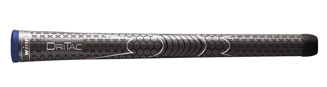 winn dri tac dri-tac midsize golf grips golfer GRAY GREY Dritac Grip Brand New