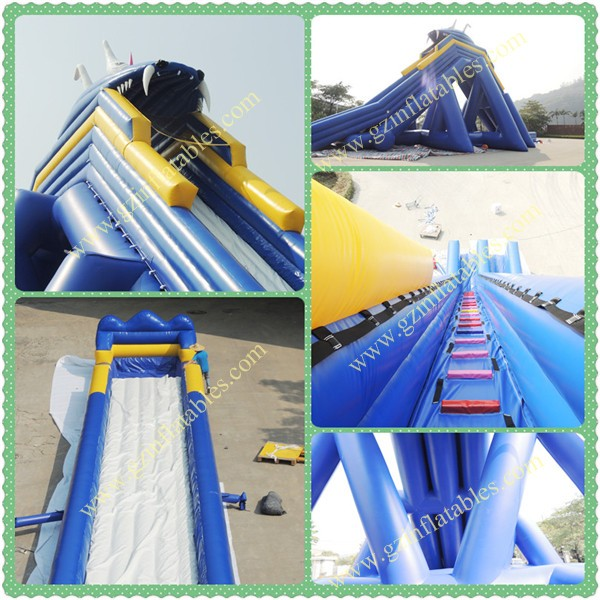 Inflatable Water Slide Repair Kit: Professional Supplier Giant Inflatable Pirate Ship Water