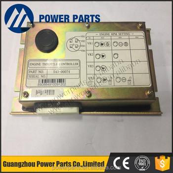 Doosan Excavator Engine Throttle Controller Ecu For 2543-1036 543-00074  Dh220-5 Dh225-7 Dh300-7 - Buy 543-00074,Ecu,Doosan Controller Product on