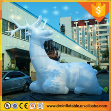 2016 giant inflatable deer for Xmas decoration