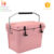 25L Rotomolded Insulated Plastic ice cream cooler box PU styrofoam cooler box