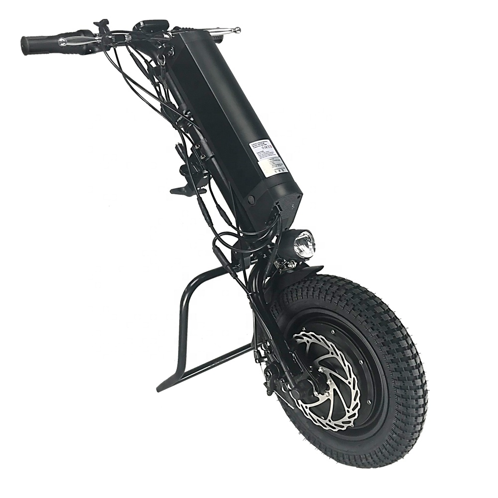 New promotion Fast delivery 36v 500w 11.6ah electric wheelchair handbike handcycle for handicap