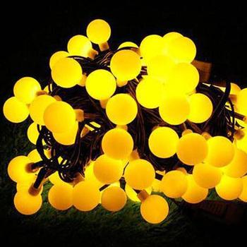 String Draad Bal Flash Vakantie Verlichting Waterdicht Decoratie Multicolor Batterij Outdoor Led Kerstverlichting Buy Led Vakantie Licht String
