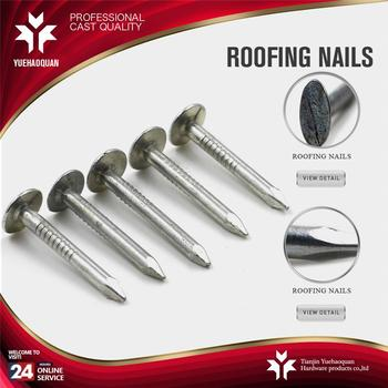1 5 Felt Nail Roofing Nails With Rubber Washer Buy 1 5