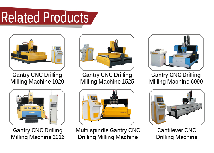 3 axis cnc drilling machine metal machining center