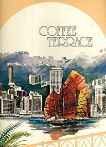 Coffee Terrace Ice Cream Menu Hyatt Regency Hotel Hong Kong 1980s China