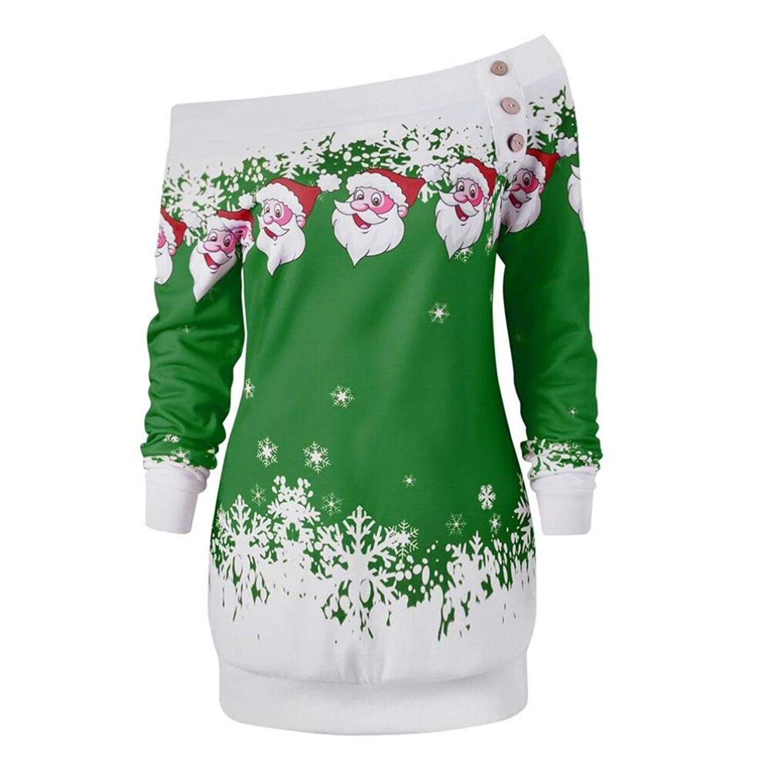d9c958fe3cdd71 Get Quotations · Boomboom Christmas Women Blouse