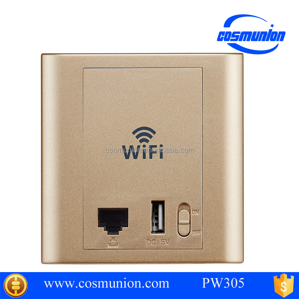 Brand new wireless wifi ap in wall access <strong>point</strong> with usb port