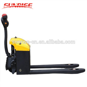 Materials carrying trolley battery operated pallet truck for sale