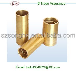 Coustomed OEM service electric motor bronze bushing in Dongguan