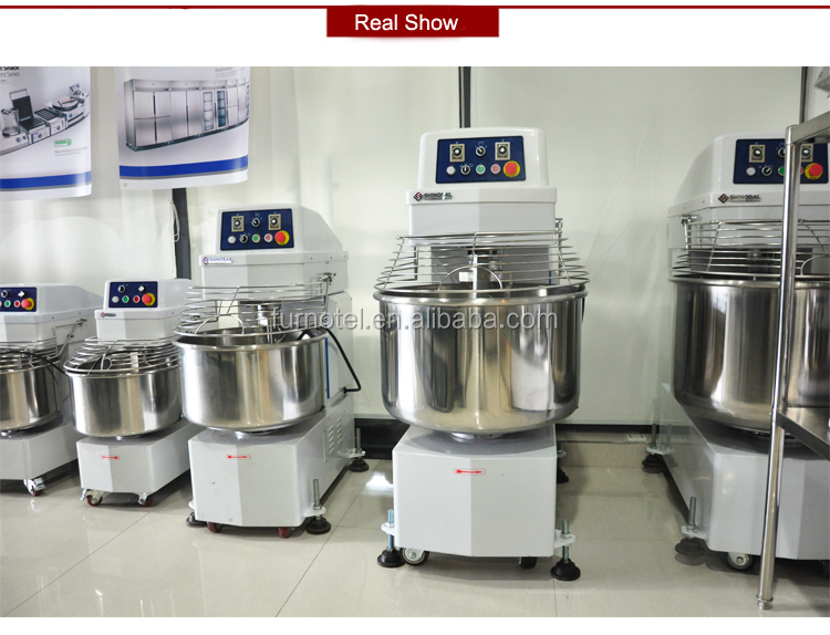 Stainless Steel 30kg/40kg/50kg Industrial b20 Large Planetary Food Mixer For Sale