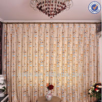 Eyelets Top printed Sheer Curtains Online Home Upholstery