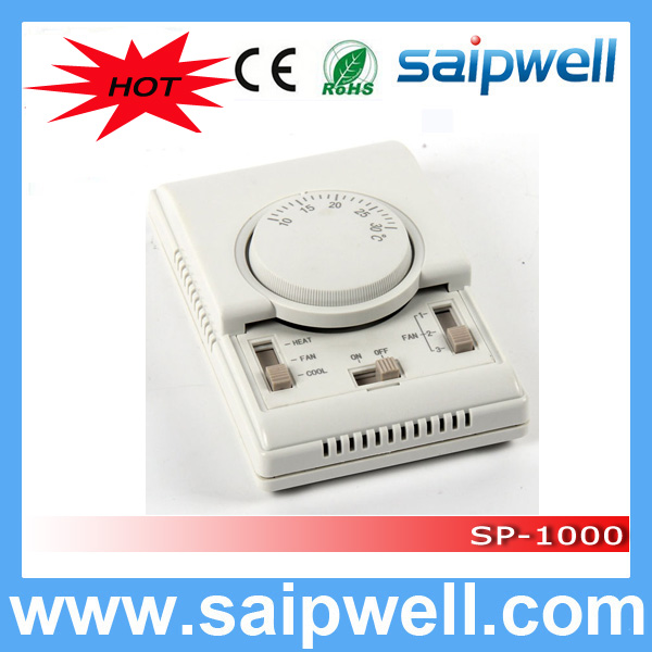 Saip/Saipwell High Quality SP-1000 Series of room thermostat with external sensor