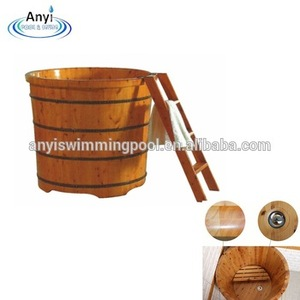 2017 Hot Sale High Quality Wooden Barrel Bathtub Spa Bath Wooden Bareel Hot Tub