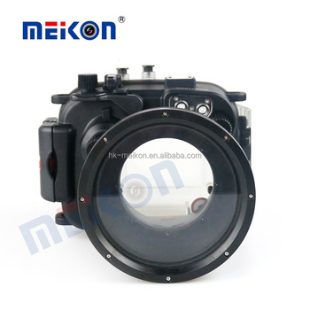 Meikon IPX8 60M/195ft waterproof camera cover for Canon G1X Mark II