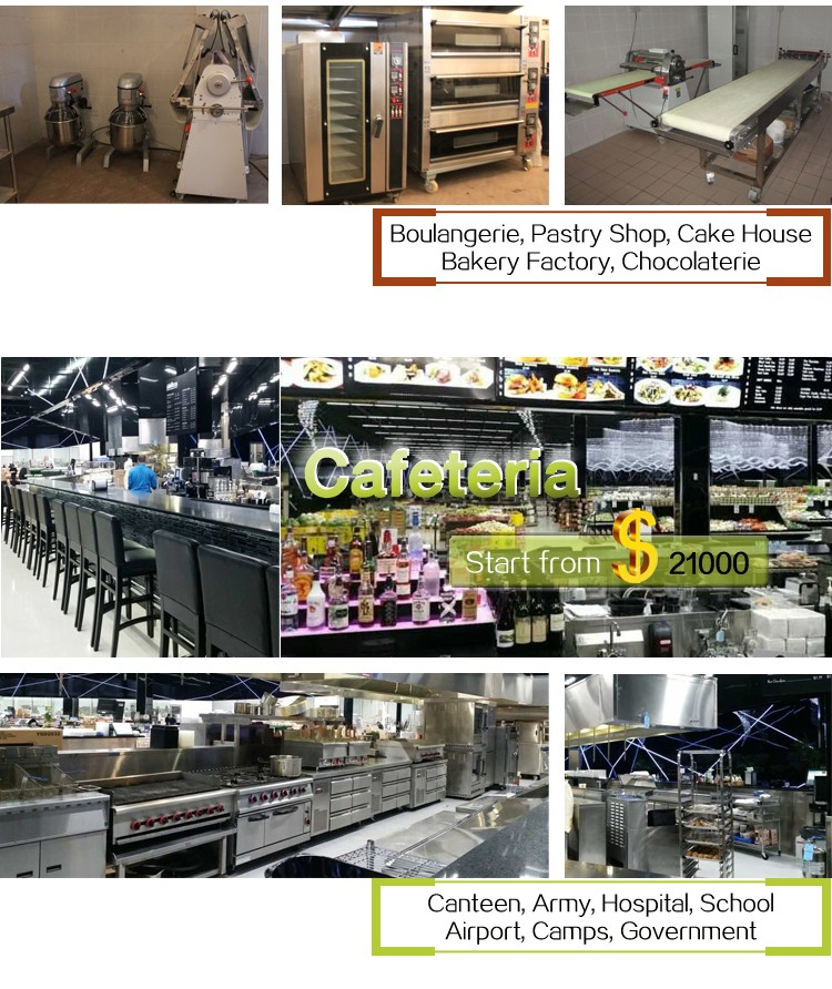 Industrial Quality Commercial Restaurant Kitchen Equipment List One
