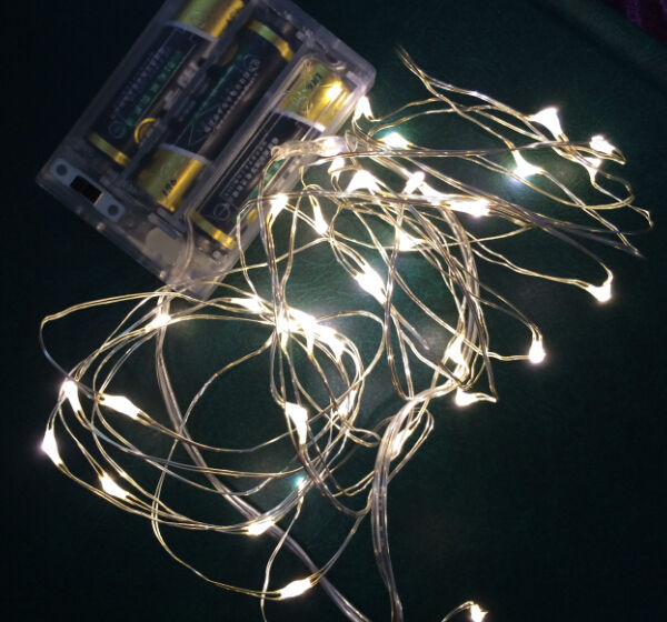 Battery Operated Led Fairy Lights For Wedding Party Garden Home ...
