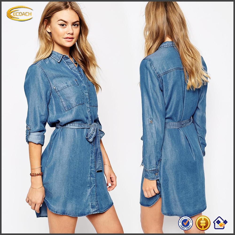 Wholesale Denim Dress