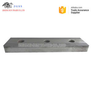 Zigong,China Manufacture, Granulator Stator Blades/Counter Knives