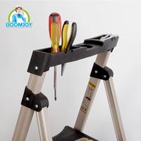 China super quality aluminum wide step ladder