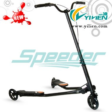 Super swing scooter for adults