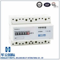 Compact design for easy installation Active DIN Rail Power Meter