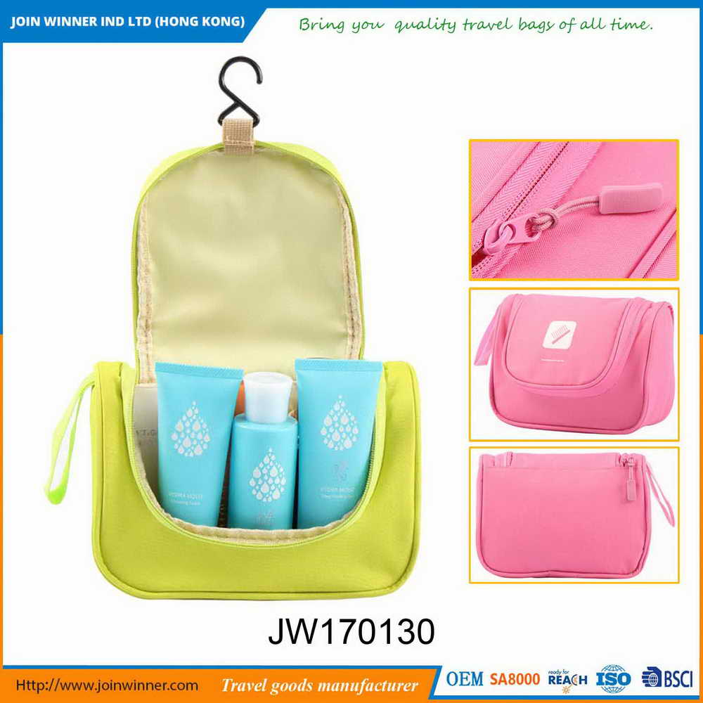 Factory Directly Supply Toiletery Beauty Bag With Bottom Price