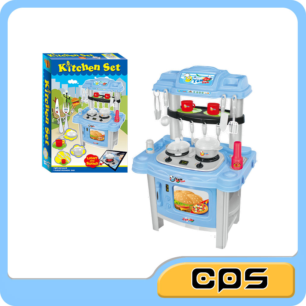 Intelligent kitchen play set toys children toys with sound