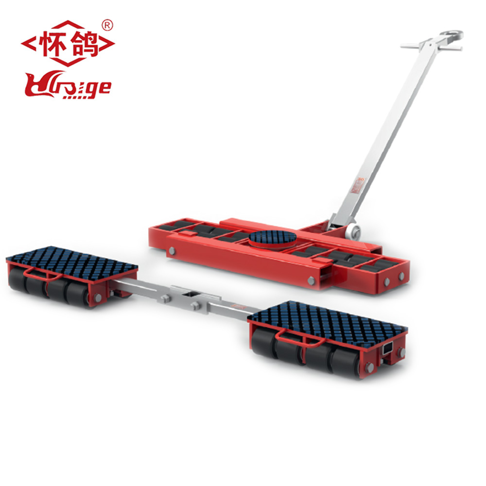 Heavy duty X+Y series combine Dolly Moving container 16 ton roller skate