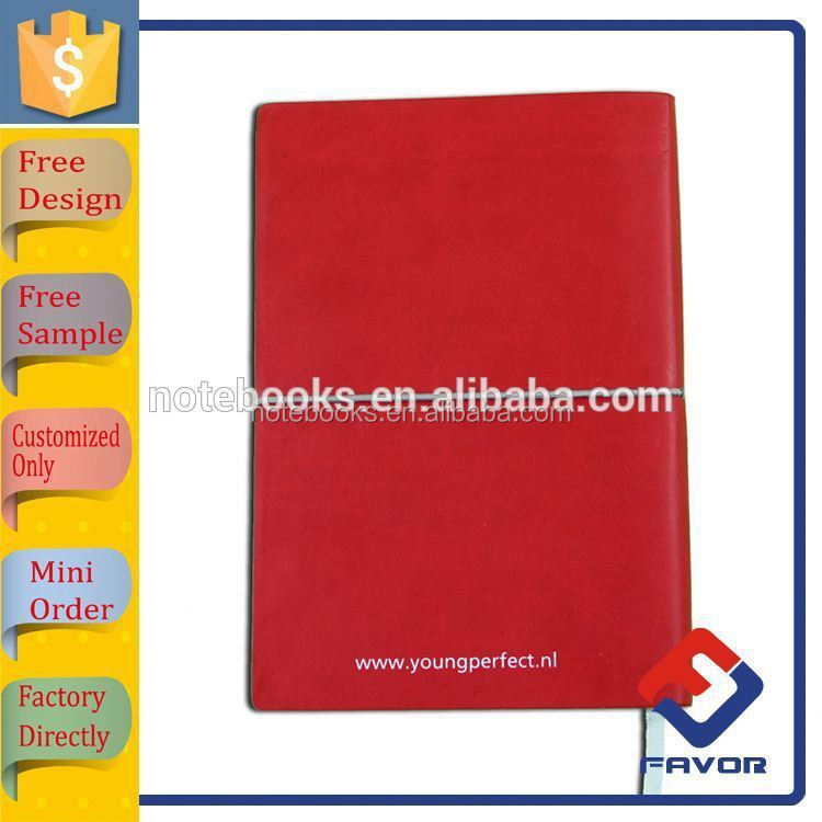 2015 leather refillable soft cover pocket agenda notebook