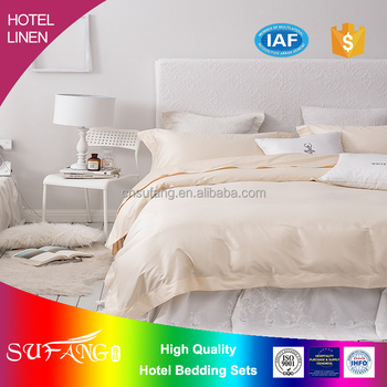 2017 Hotel Linen/wholesale Cotton500TC 100s*100s Bed Sheet,used Hotel Bed  Sheet