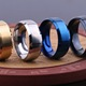 Top Quality Stainless Steel Ring Blanks Popular Titanium Ring For Men