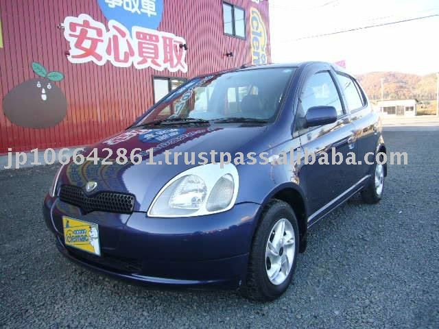 1999 Used japanese cars TOYOTA Vitz (YARIS) RHD