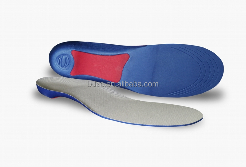 wholesale high arch removable good feet sport EVA shoe insert arch support foot orthotic insoles