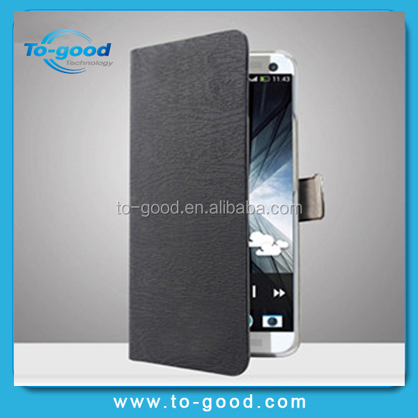 2015 Newest Ultra-thin Glitter Flip PU Wallet Stand Leather Phone Case For Gionee Elife E6 Case(Black)