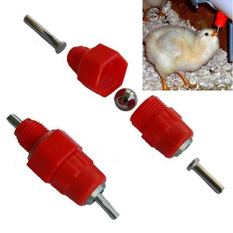 weiqian hotselling high quality poultry nipple drinker/new poultry hanging waterers for chicken