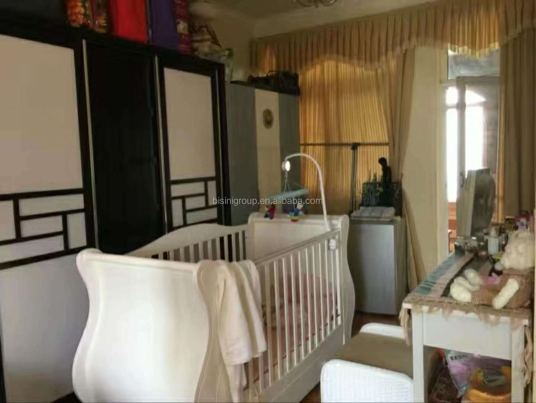 Slaapkamer Amerikaanse Stijl : Bisini amerikaanse stijl antieke massief houten slaapkamer baby slee