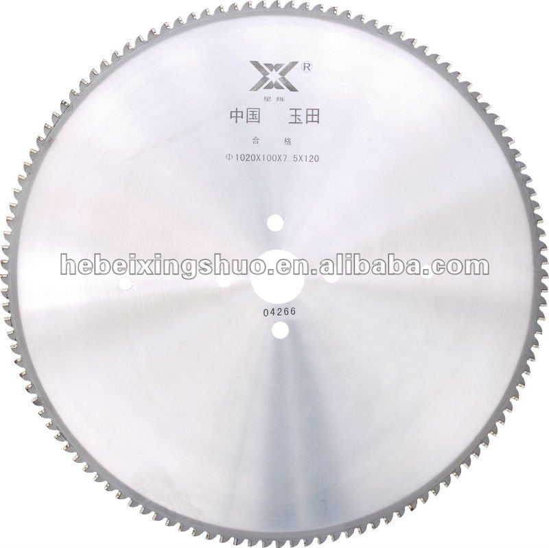 TCT SAW BLADES FOR CUTTING SEAMLESS STEEL PIPE