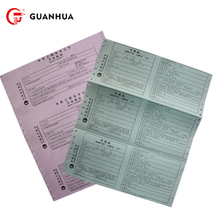 Eco-Friendly computer form duplicate continuous printing paper