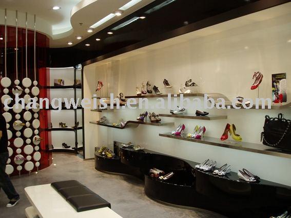 Shose Shop Design Display Shelf Store Shelf